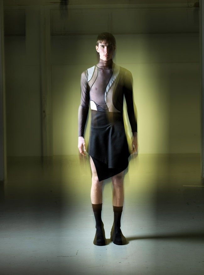 "Captain Nemo would dress fashionably even at 20 thousand leagues under the sea. At least according to Pablo Henrard, French designer of graduate collection ""Maelström"" inspired by Verne's hero and the underwater world."