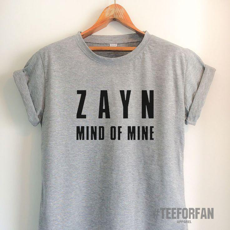Zayn Malik Shirt Mind of Mine T Shirt Zayn Malik Merch Clothing Top Tee Jersey for Women Girls Men