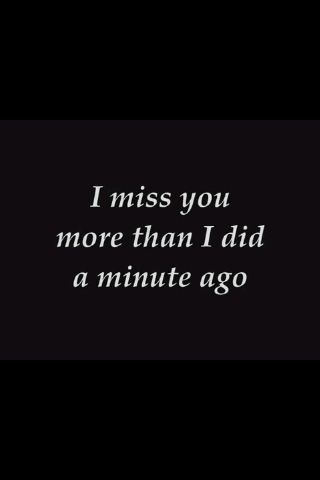 I will never stop missing my Mom