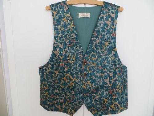 Jade Green Wedding Waistcoat 40-42 with Bow Tie.£34.99