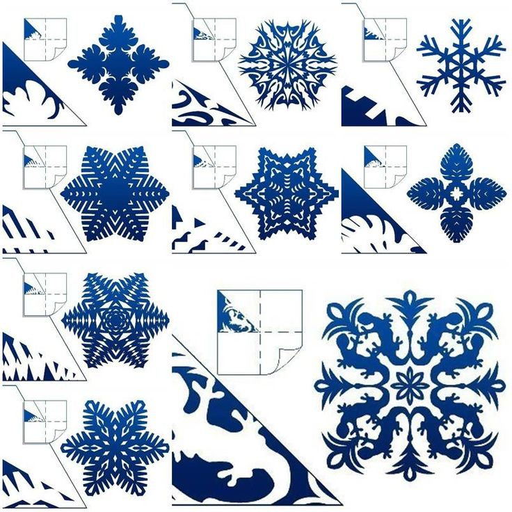 How to make Schemes of Paper Snowflakes step by step DIY tutorial instructions, How to, how to do, diy instructions, crafts, do it yourself, diy website, art project ideas
