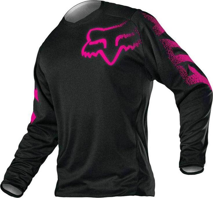 2015 Fox Racing Blackout Motocross Dirtbike MX ATV Riding Gear Womens Jersey in eBay Motors | eBay