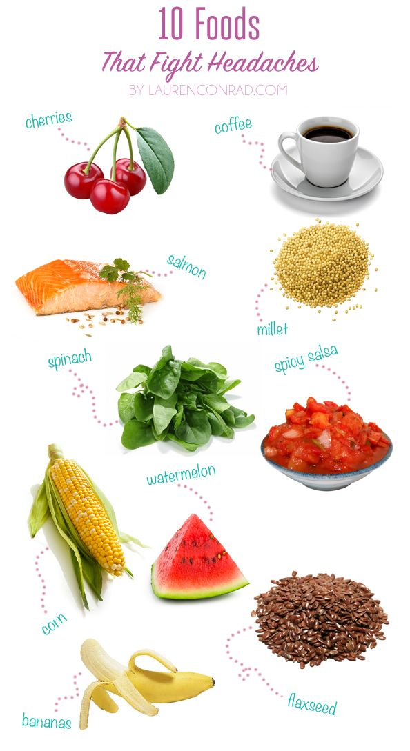 Tuesday Ten: Foods That Fight Headaches. Too bad 9/10 of these are already staples in my diet. Seriously if Lauren Conrad is the one who ends up solving my migraine issues...