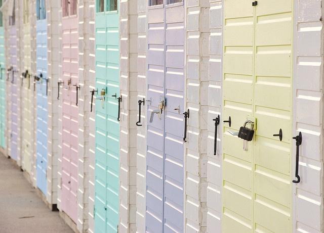 Color Pastel - Pastels!!! photo  Pastel Beach Huts