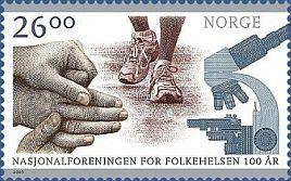 100 éves a Norvég Nemzeti Egészségügyi Szövetség