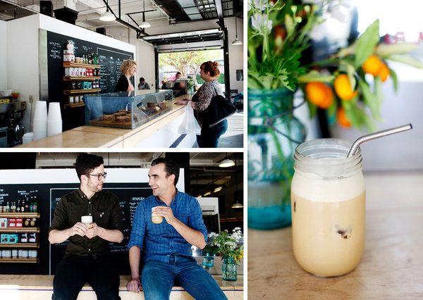 "Almond-macadamia milk and espresso make up the ""best"" ice latte in America"