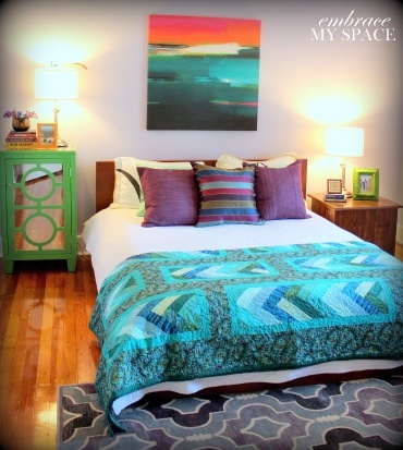 68 best images about turquoise bedroom inspiration on - Turquoise and purple bedroom ...