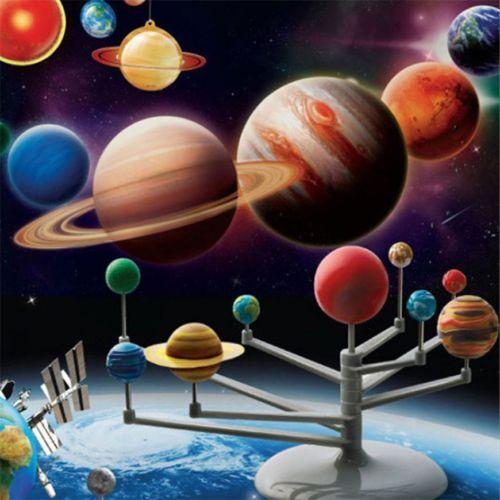Solar-System-Planetarium-Model-Kit-Astronomy-Science-Project-DIY-Kids-Gift-FE