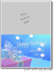 Verjaardagskaart maker - gelukkige verjaardag kaart sjabloon - maak uw eigen verjaardagskaarten om af te drukken