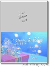 Birthday card maker **FREE**