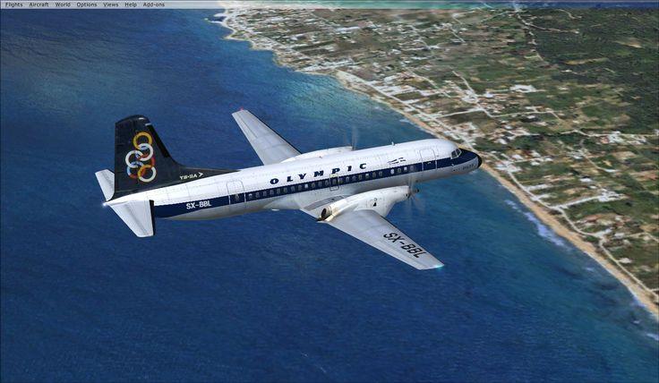 Olympic Airways vintage