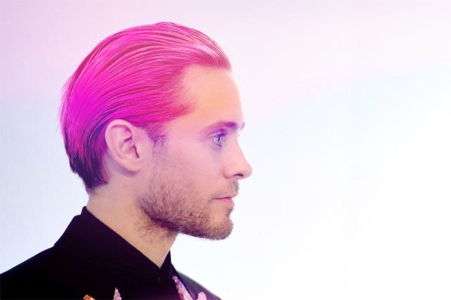 Jared Leto pink hair