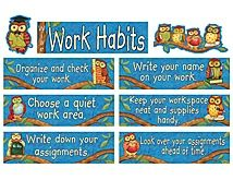 Wise Work Habits (could make my own using Wise reading strategies)