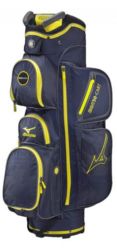 Sac de golf Mizuno eight50 cart navy/jaune
