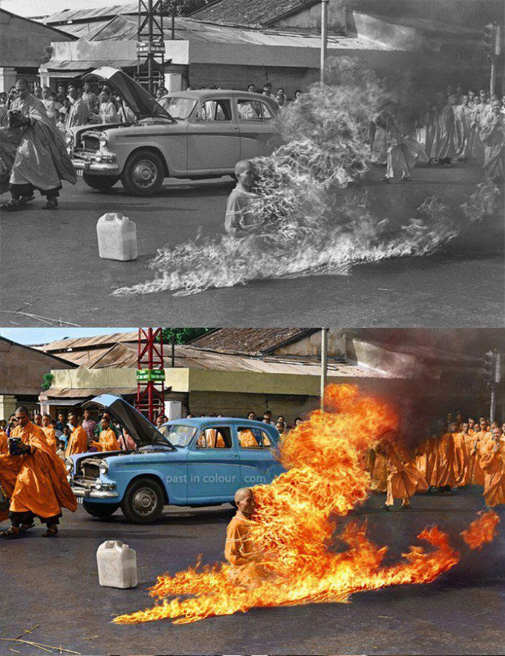 Thich Quang Duc, 1963 #history #vintage