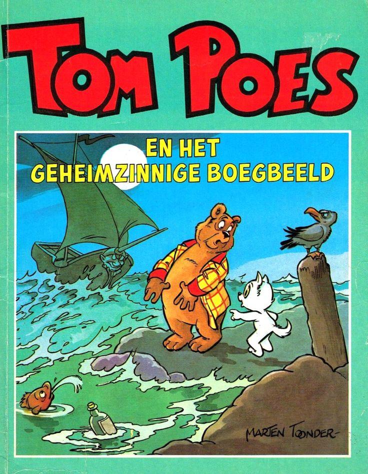 Tom Poes (Oberon) - 29 - Tom Poes En Het Geheimzinnige Boegbeeld