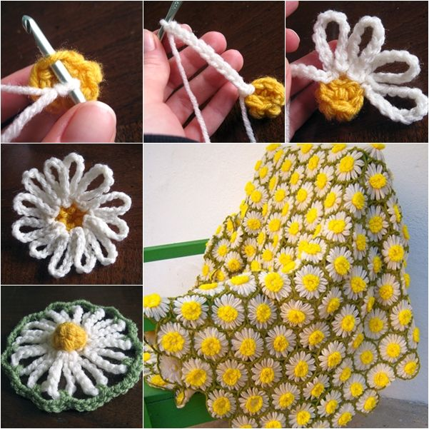 Source This is a basic crochet pattern of daisy motif, which is easy for beginners to try to make scarfs or blankets by connecting these loomed flowers together. Marerial: Yarn Crochet hooks LIKE US ON FB Get More Right To Your Inbox! Get captivating new Tutorials, just like this …