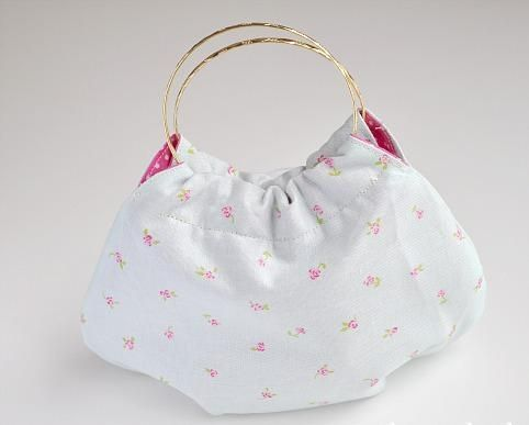 Bolso de tela utilisima manualidades bolsas de tela - Bolsas de tela manualidades ...