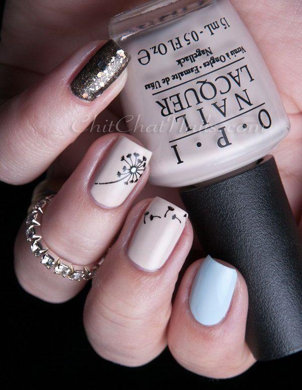 Die besten 25 dandelion nail art ideen auf pinterest schne buff dandelion nails see more details prinsesfo Gallery