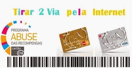 C&A Cartão Online Bradescard – 2 Via da Fatura - http://www.meuscartoes.com/2014/12/cea-cartao-online-bradescard-2via-da-fatura.html