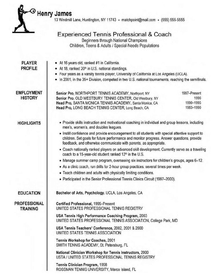 assistant football coach resume example builder template business basketball hockey