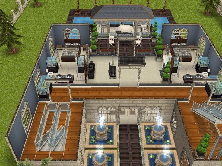 165 best Sims images on Pinterest | House design, Sims house and Sims