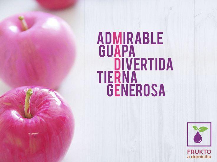 Día de las madres, 10 de mayo. #mamá #diseño #frukto #mercadoadomicilio #SanPedroGarza