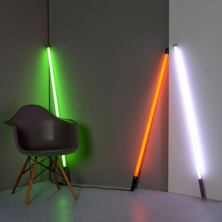 Lighting,Brands,Latest Trends - Seletti Linea Neon Tube Light