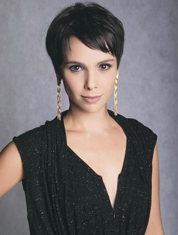 Debora Falabella - Brazilian actress probably to blame for my current pixie cut obsession