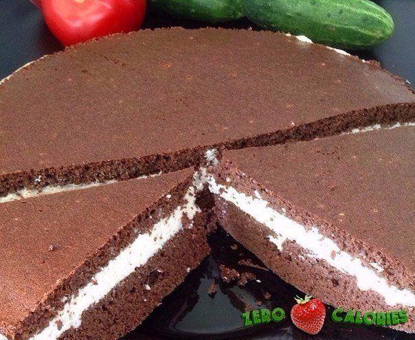 Шоколадный торт  на 100грамм - 105.91 ккал, Б/Ж/У - 10.16/2.69/10.11