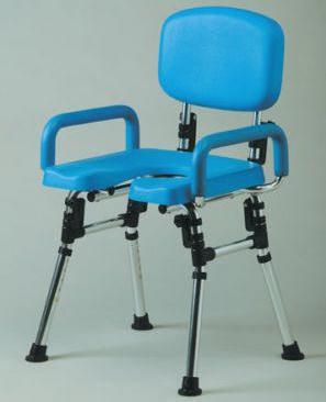 Deluxe Folding Shower Chair With Cut-Away Seat - Shower Chairs For The Elderly And Disabled UK