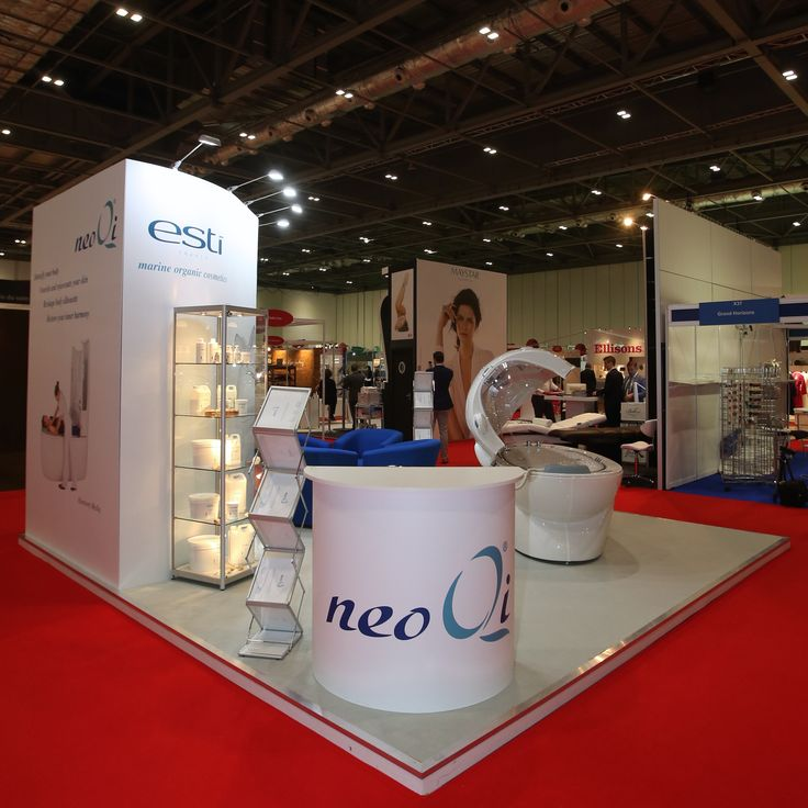 Stand for NeoQi at Professional Beauty 2015