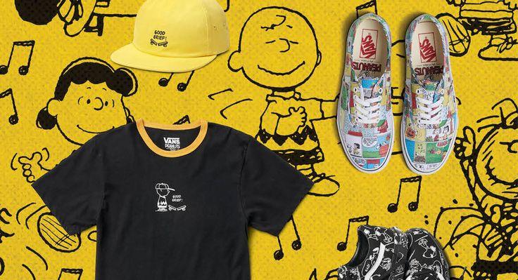 Рассказываем про новую коллаборацию Vans x Peanuts Holiday AW17. Фото и представление коллекции. Читайте на мужском портале Stone Forest.