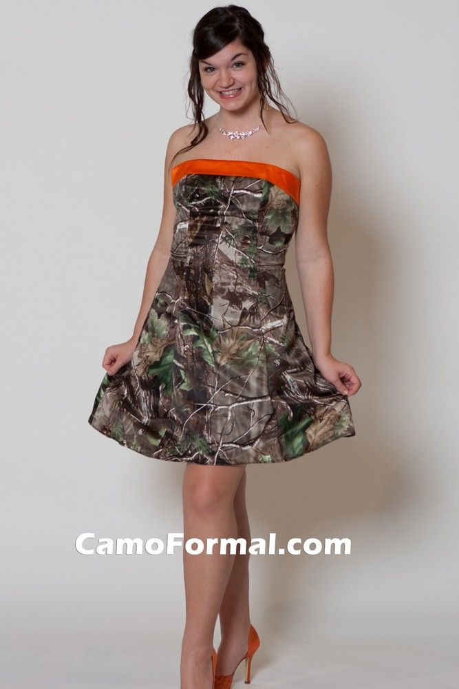 1000 images about apg realtree camo formal wear on pinterest for Camo accented wedding dresses