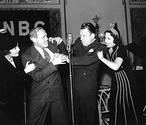 Jack Benny and the famous feud with another radio star, Fred Allen.