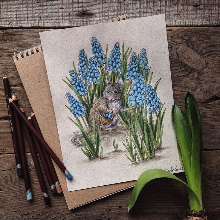 Russian artist Lia Selina has always loved fairytales. She began a career in computer animation, but it was only after the birth of her daughter, Alice, that she combined her love of fairy tales with drawing: Selina went back to basics with a notebook and color pencils and began drawing unique dolls.