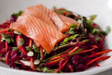 Raw rainbow salad – Recipes – Bite
