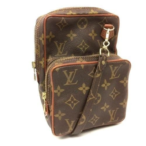 f17bf923f8dd Auth LOUIS VUITTON Mini AMAZON Cross body Bag Vintage WOMEN LEATHER HANDBAG   LouisVuitton  Crossbody