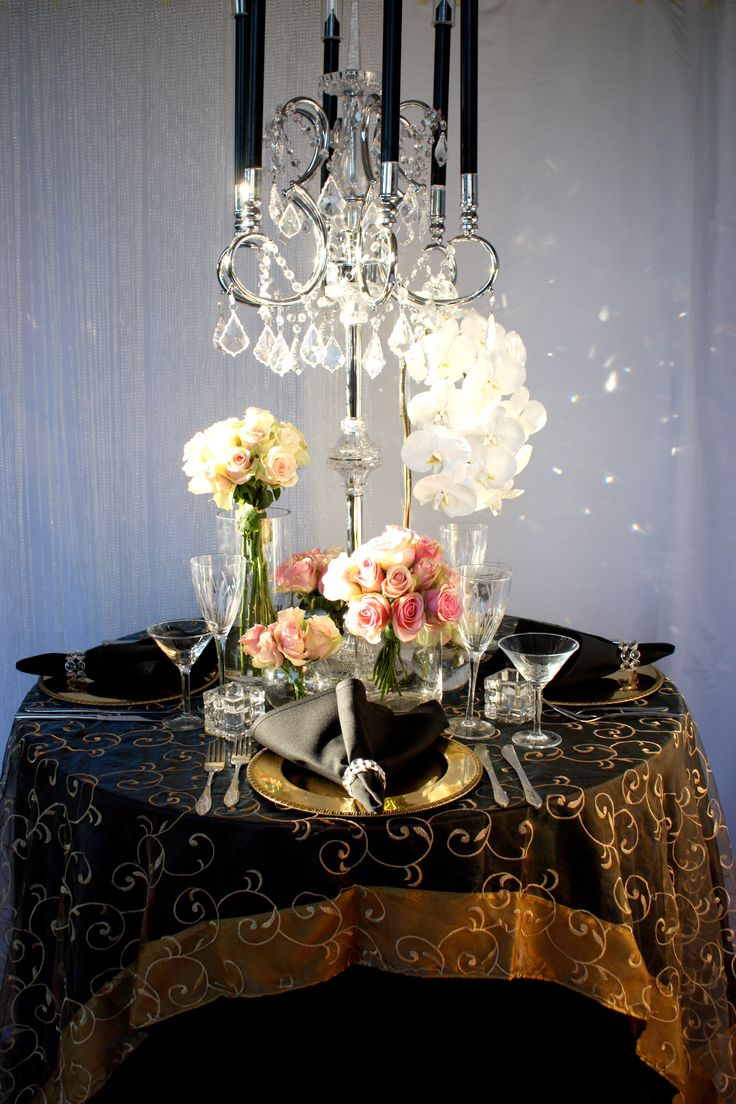 French Opulence Styling by Decor It Events  www.decorit.com.au   #french #opulence #centerpiece #crystal #candelabra #wedding #lunch #gold #pink #roses#linenhire #linen #melbourne #melbourneevents #decorations #inspiration #tablelinen #decoritevents (35)