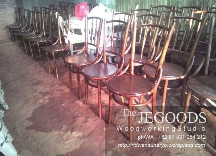 Ready Stock Kursi Kopitiam Teak Cafe Chair