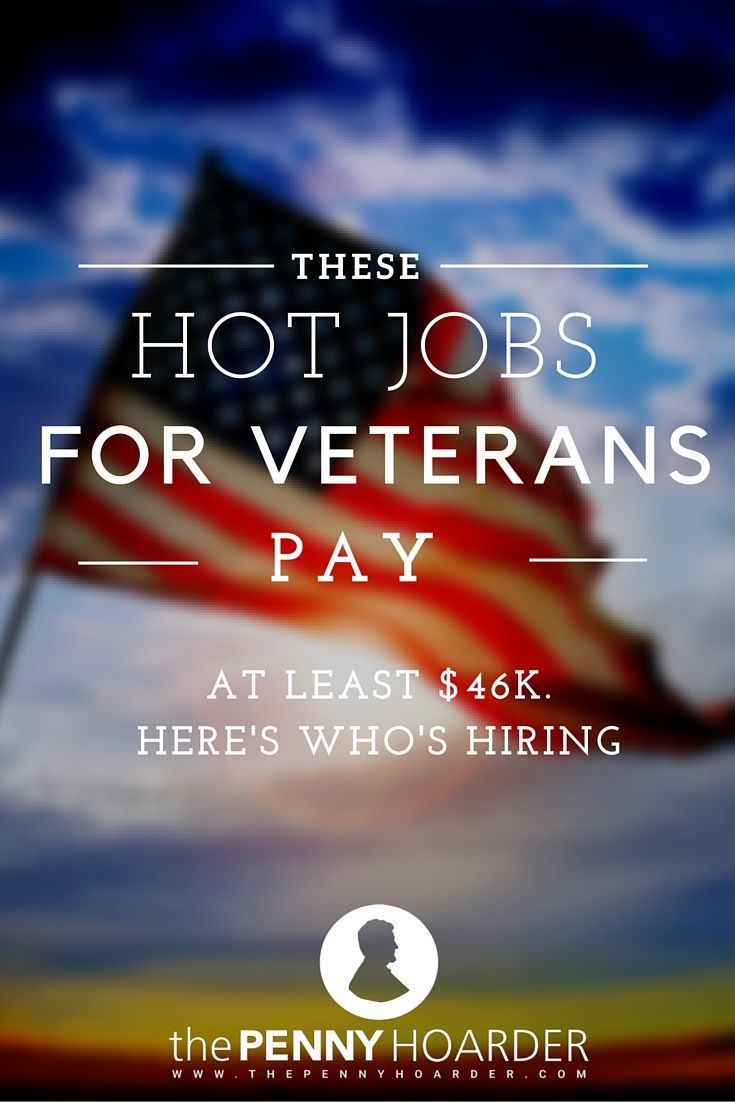 Wondering what to do after you leave the military? Check out these fast-growing and well-paying jobs for veterans at companies that are hiring NOW. - The Penny Hoarder http://www.thepennyhoarder.com/hot-jobs-for-veterans-companies-hiring/