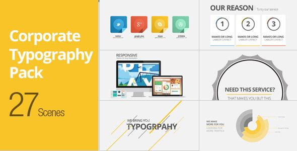 Corporate Typography Pack http://videohive.net/item/corporate-typography-pack/5006143?ref=12241972