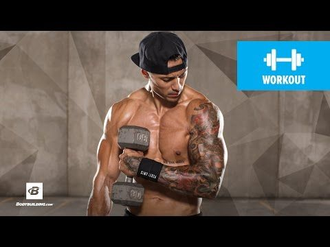 Bodybuilding.com: Advanced Back & Biceps Workout   Ripped Remix   Day 5
