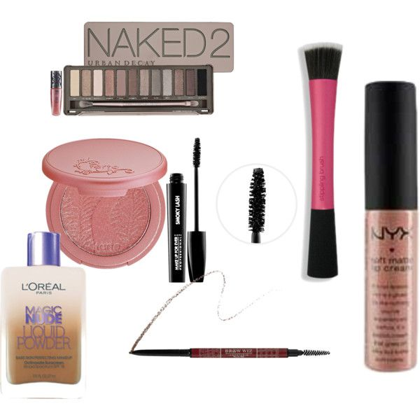 """Neutral Makeup Look & Products"" by cindyslittleblackbook on Polyvore"
