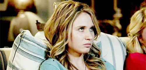 "You think her reaction to Twilight was a thing of beauty: | 21 Signs You're In Love With Rita Volk From MTV's ""Faking It"""