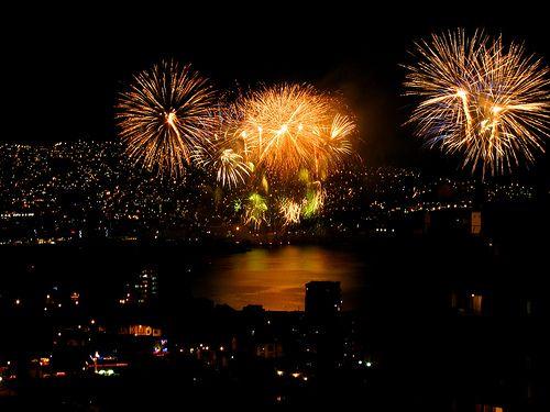 Año nuevo 2014  en Valparaíso