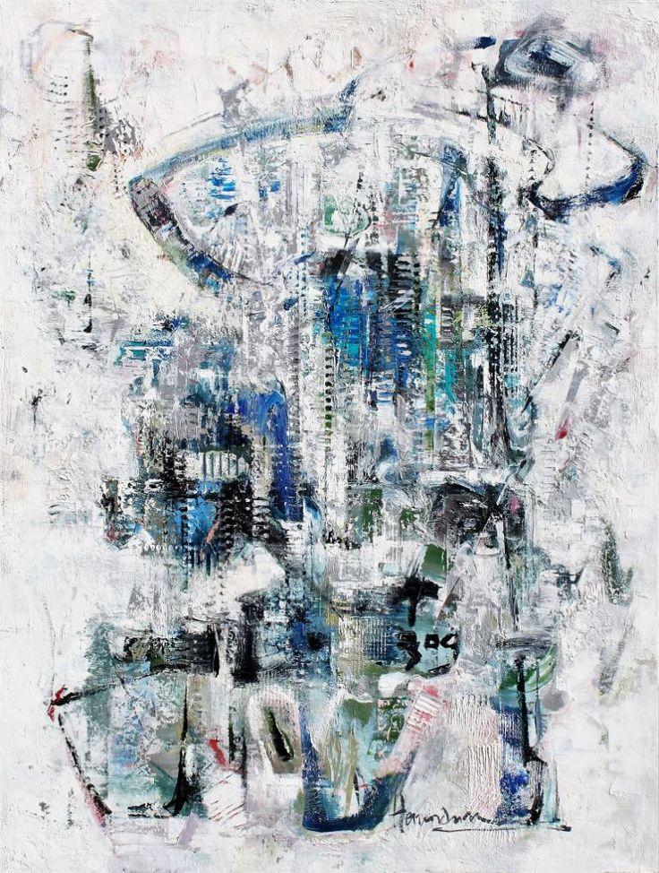 "Saatchi Art Artist Dina Herrmann; Painting, ""Crab Mentality"" #art"