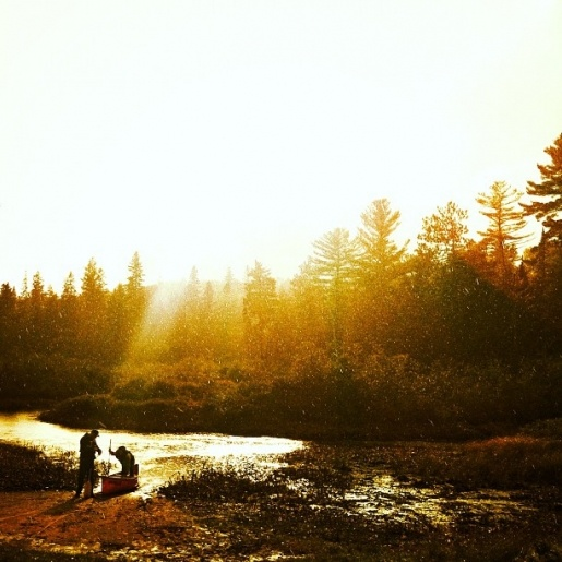 The sun breaking through the rain at Algonquin Park... so beautiful! @Seth Partridge #Algonquin #iPhoneography