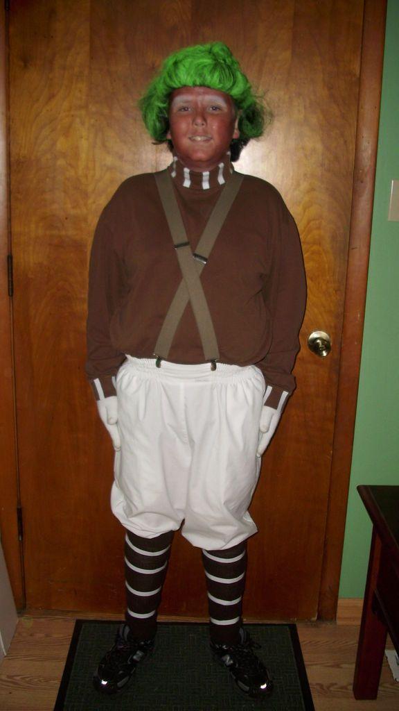 how to make an old fashioned oompa loompa costume - Oompa Loompa Halloween