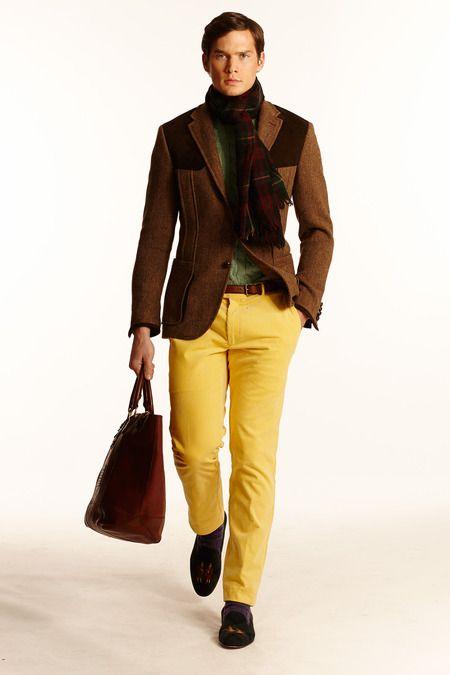 Ralph Lauren | Fall 2014 Menswear Collection | New York